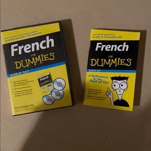 Bundle of 2 travel books + French for Dummies